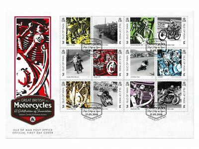 Great British Motorcycles First Day Cover (WI91)