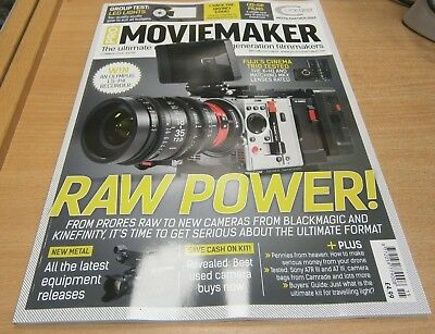 Pro MovieMaker magazine Summer 2018 ProRes Raw to new Cameras + LED Lights &more