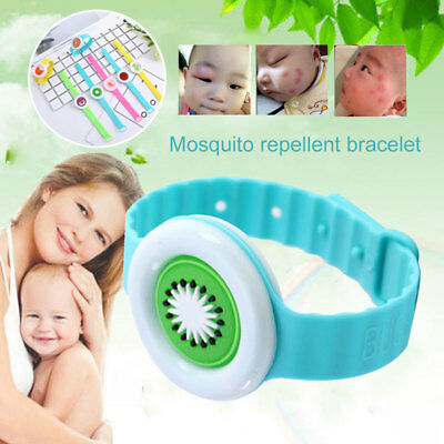 Lovely Pest Control Cartoon Repellent Bracelet Random Style Rubber Insect