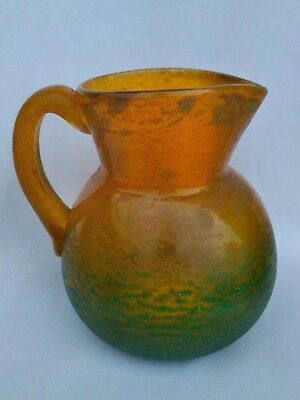 Georges De Feure Ancien Pichet En Pate De Verre Daum Art Nouveau Antique Pitcher