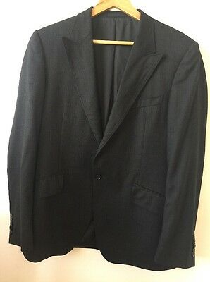 Great Condition Versace Jacket Size 52R Black