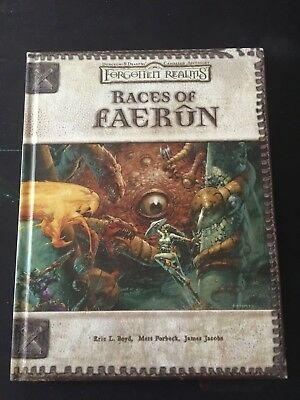 Races of Faerun - Forgotten Realms