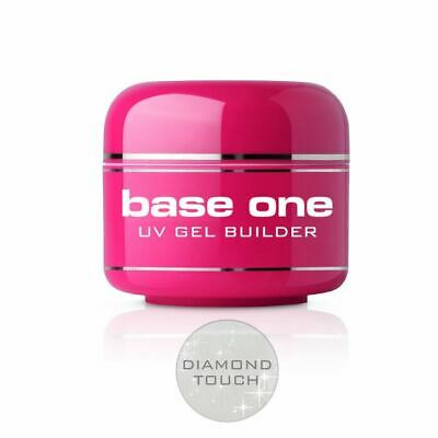 Silcare Base One Diamond Touch Glitter Acid Free UV Gel File Off Nail Builder