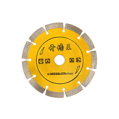6'' Diamond Saw Blade Circular Cutting Disc For Ceramic Concrete Cutter Tool