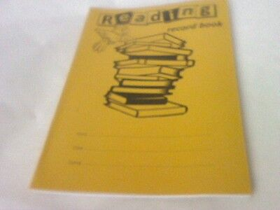 RHINO 40 pages READING RECORD BOOK low price-see picture-FREE P & P