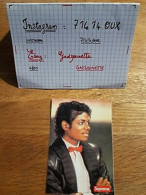 stickers supreme michael jackson