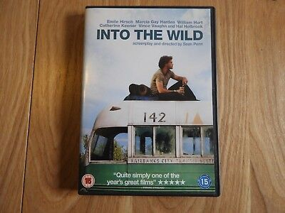 Into The Wild (DVD, 2007) Used, Very Good Condition PAL Region 1st Class Fast