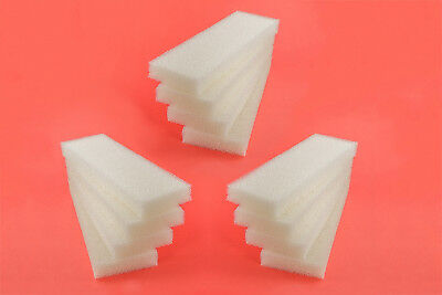 12 Foam Filter Pads to fit Fluval 304 305 306 External Canister Filter