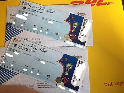 2x Tickets FIFA WM - 3d Place Match , St Petersburg - World Cup Russia 2018