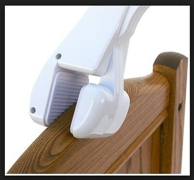 Crib Mobile Attachment Arm - Clamps to Crib for Baby in Nursery 2 Inch Opening