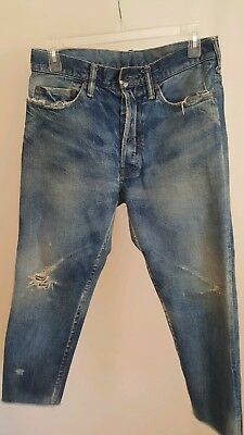 CHIMALA Selvedge Narrow Tapered Cut Jeans Size 27