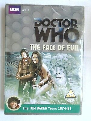 Doctor Who - The Face Of Evil (DVD, 2012, 2-Disc Set) New & Sealed  DW-F