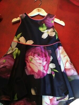 Ted Baker Dress Age 12-18 Months New With Tags