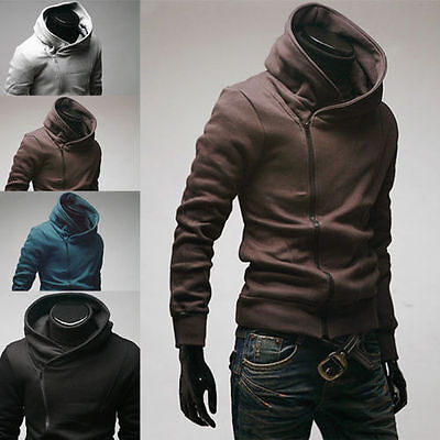 Stylish Creed Hoodie Cool Slim Coat MenCosplay For Assassins Jacket Costume