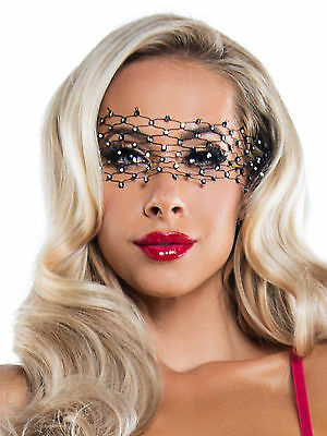 Masque Starline Diamant Net Crystal Eye Noir