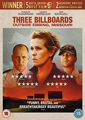 Three Billboards Outside Ebbing, Missouri [DVD] [2018][Region 2]