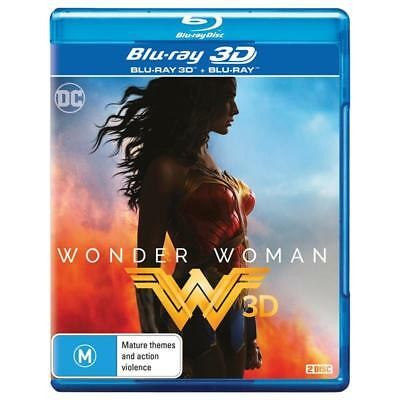 DC Universe Wonder Woman Blu-ray 3D + 2D BRAND NEW SEALED Region B FREE POSTAGE