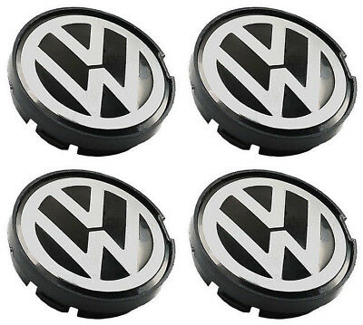 Genuine OEM Wheel Center Hub Cap Emblem 6N0601171(55MM) FOR VW Golf Jetta Passat