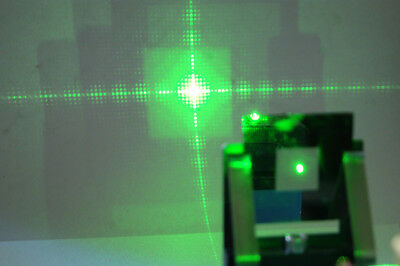 "Diffraction grating on 2"" mirrored glass slide plus multi beam combiner"