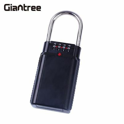 Security 4-Digit Combination Password Lock Realtor Keys Guard Lockbox Lock Box
