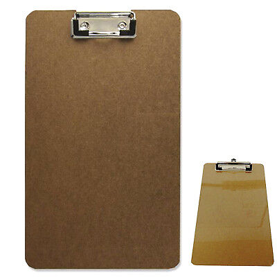 Wooden Clipboard with Hanging Hole Clip Board Office School Work Paper Board