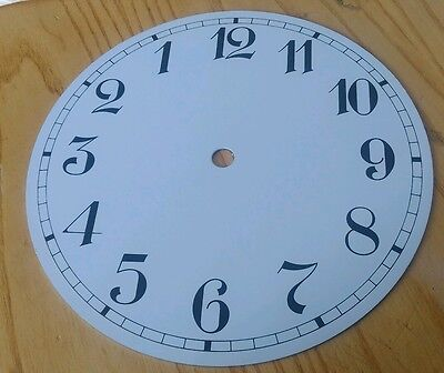 Clock Dial 185mm Reverse Arabic Enamel