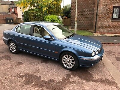 Jaguar x type se auto 2.5 v6 2002 genuine 92,000 miles very clean mot end july