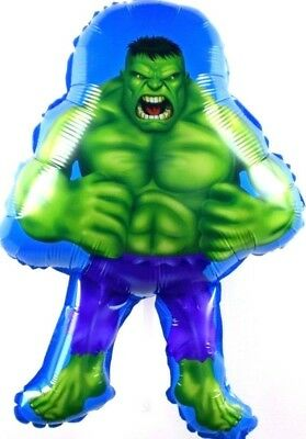 R2F5 Helium foil balloon Hulk Birthday Surprise Geburtstag Marvel Ballon SMASH