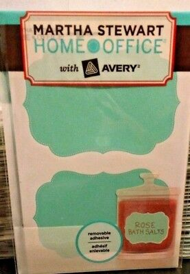 martha stewart home office avery labels 2 1 2 x 3 3 4 4pks 48
