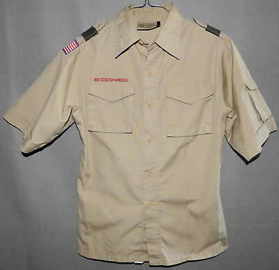 Boy Scouts of America Centennial Uniform Shirt size YOUTH LARGE