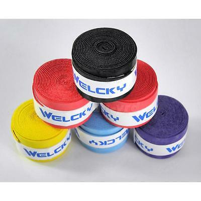 Absorb-sweat stretchy Tennis & Badminton Squash Racquet Band Grip Tape Overgrip