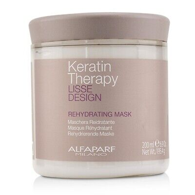 AlfaParf Lisse Design Keratin Therapy Rehydrating Mask 200ml Treatments