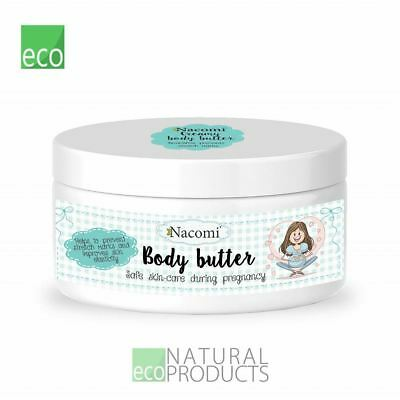 Nacomi For Pregnant Women Natural Creamy Body Butter 100g