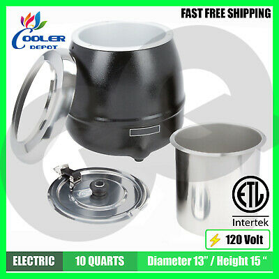 Soup Warmer Commercial Electric Stew Pot Restaurant Buffet Deli Catering NSF NEW