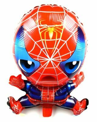 R3F4 Helium foil balloon Spiderman Birthday Geburtstag Ballon Spinne Baby Party