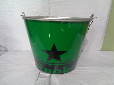 Heineken - Metal - Beer Bucket / Ice Cooler - Green - New