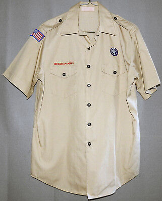 Boy Scouts of America Uniform Official Shirt size Men's LARGE