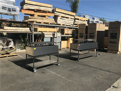 """Commercial Stainless Steel 72"""" Commercial outside BBQ oven OB72"""