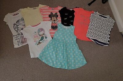 Bundle of Girls Summer Clothes - Age 6-7