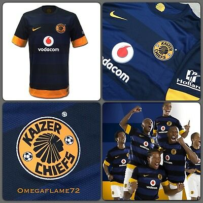 Nike 2014-15 Kaizer Chiefs 3rd Stadium Home Football Soccer Shirt XXL 479875-472