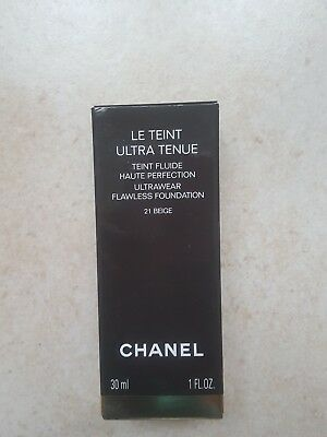 Le Teint Ultra Chanel Neuf 30Ml 21 Beige