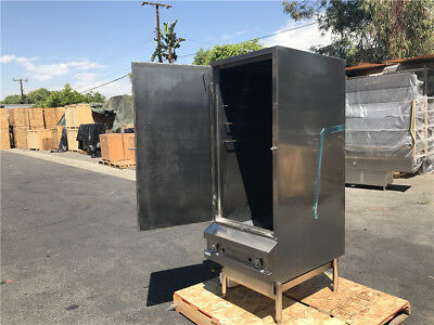 """NSFCommercial Stainless Steel 24"""" SMOKER BBQ OVEN EQ24"""
