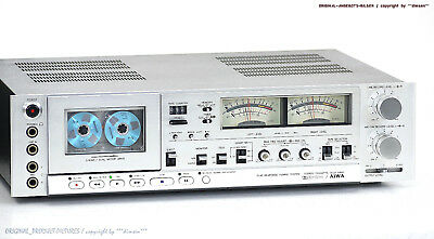 AIWA AD 6900 E HighEnd Cassette Tape Deck in Top-Zustand! Revidiert+1J.Garantie!
