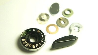 Genuine Canon AE-1 Advance film lever with Shutter dial and parts. FREE SHIPPING