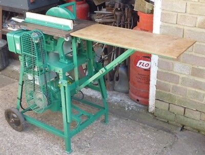 """240v AC 8"""" portable table saw with folding table extension"""