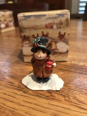 Wee Forest Folk M-342 Squire Of Micester With Original WFF Box