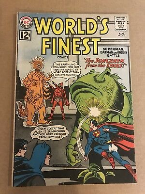 WORLDS FINEST COMICS #127 1962 DC COMICS Early Silver Age Nice Book