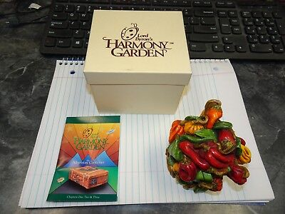 MIB Lord Byron's Harmony Garden Hot Pepper HG3HP Lidded Box 1999 W/Box & COA