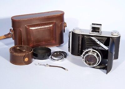 Ensign Ranger II Folding Camera with Ross XPRES 105mm f/3.8 lens * RARE *