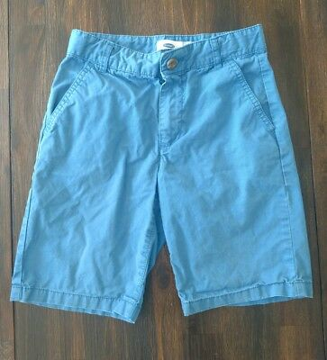 Old Navy Boys Shorts Ocean Blue Adjustable Waist Size 8
